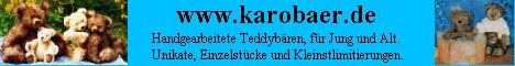 Handgefertigte Teddybaeren; Unikate-Einzelstuecke-Kleinstlimitierungen